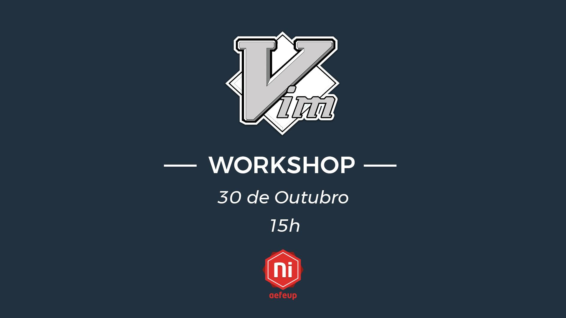 Workshop de Vim
